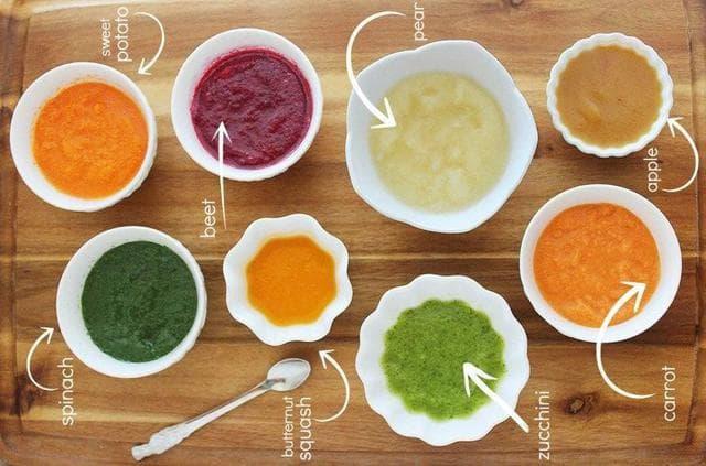 Hình ảnh: Chia nhỏ khẩu phần ăn giúp hạn chế chứng nôn trớ ở trẻ